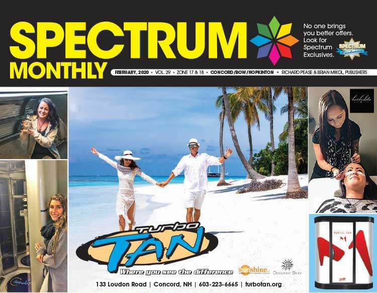 Spectrum Monthly Cover and Coupon ad