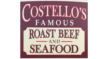 Costello's Famous Roast Beef and Seafood logo